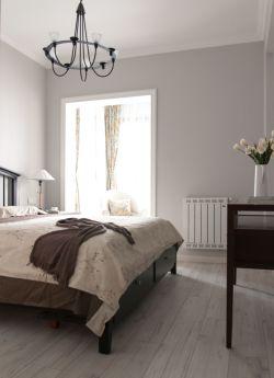 歐式簡約臥室白色門框裝修效果圖片