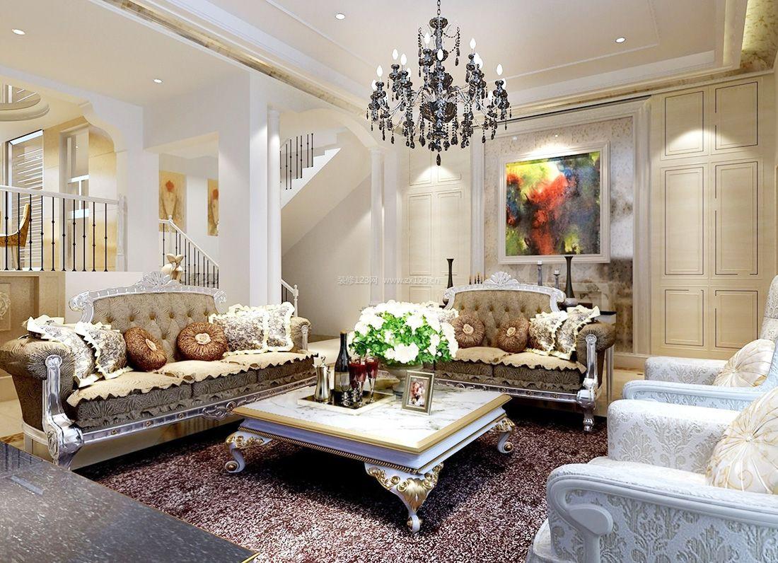 单间房客厅装饰设计图展示