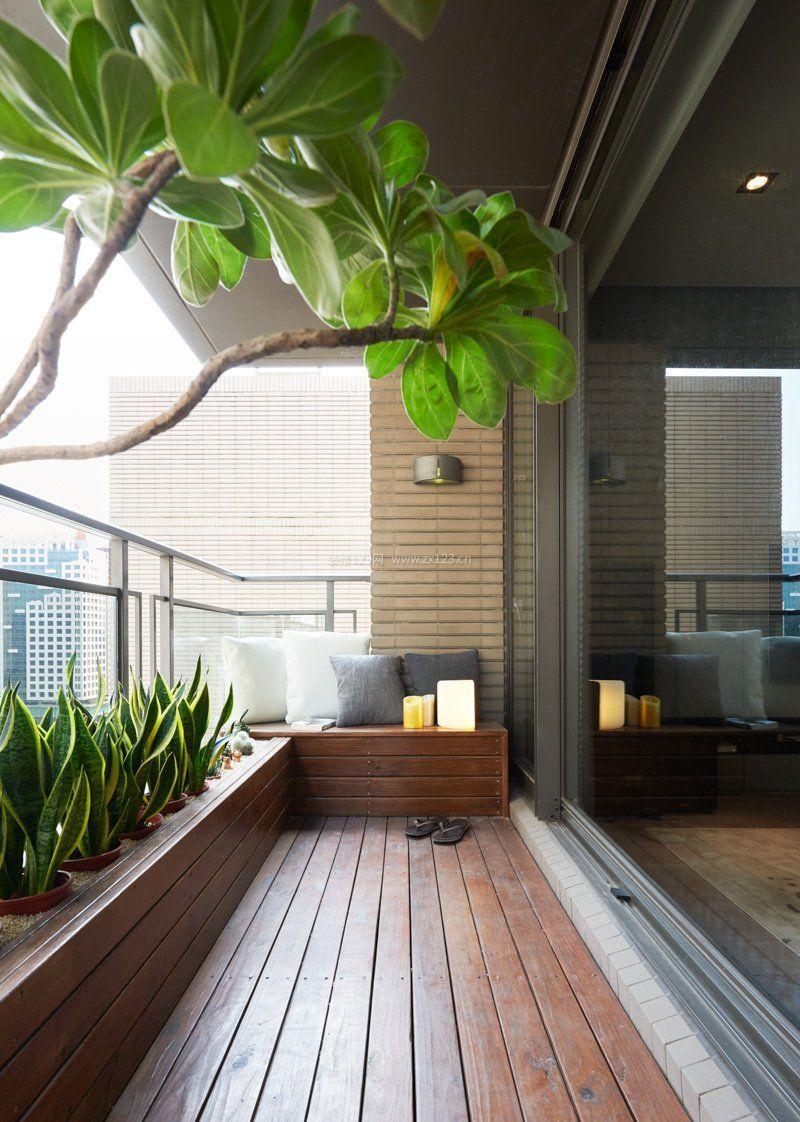 时尚家装设计客厅阳台休闲区图片赏析