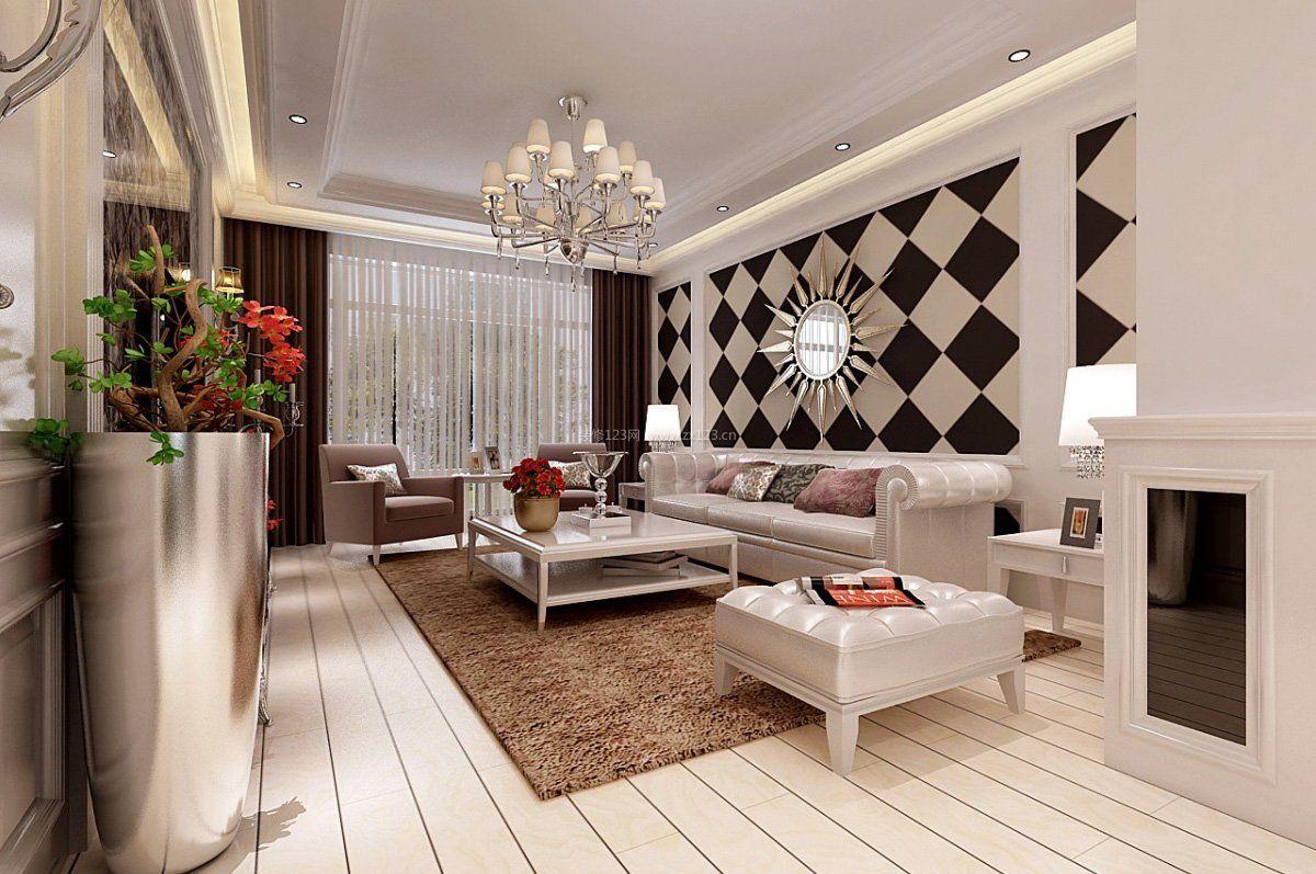 简约上海欧式家装黑白风格装修效果图