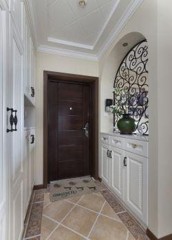 家居美式進門鞋柜設計圖