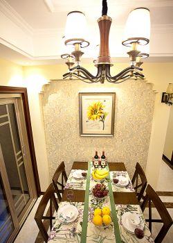 家居美式餐廳吊燈設計圖