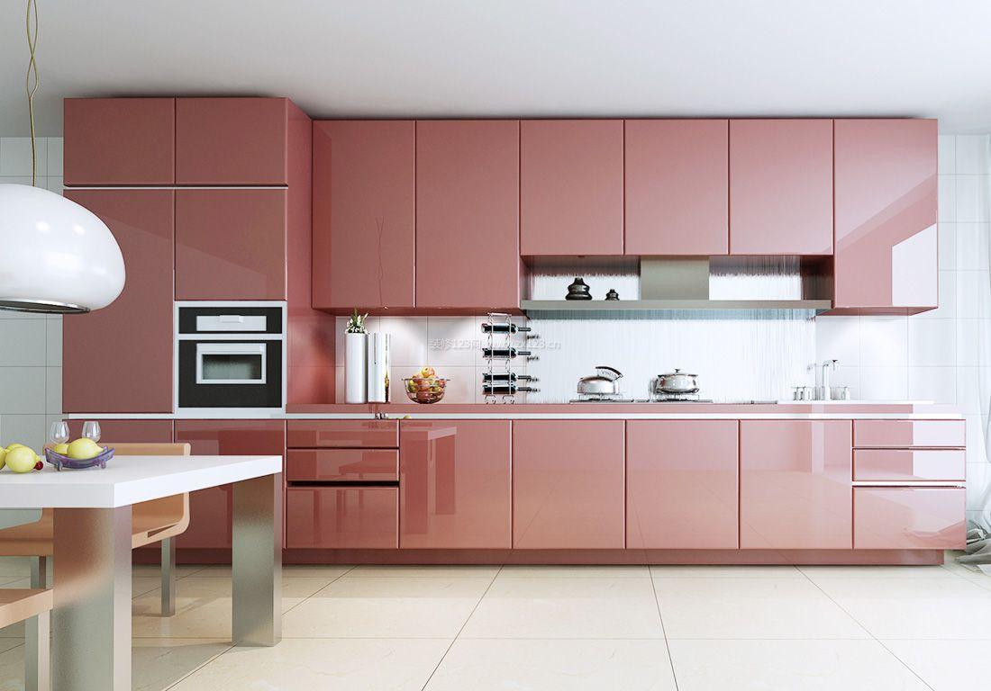 2017简约风格厨房整体橱柜装修效果图片图片