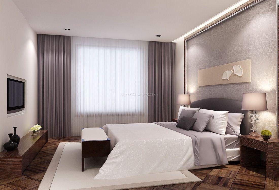 最新现代家居简约卧室装修效果图