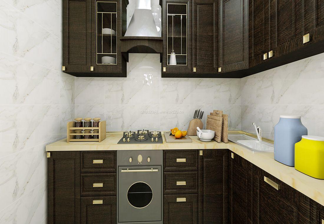 简约风格小户型家装厨房设计图片2017