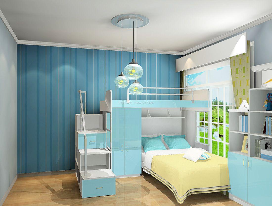 2017现代室内整套卧室家具装修效果图