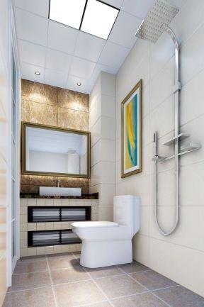 超小面积卫生间 简约现代风格装修效果图