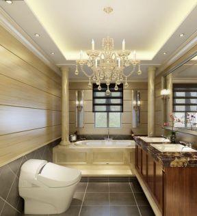 2017欧式别墅洗手间装修设计