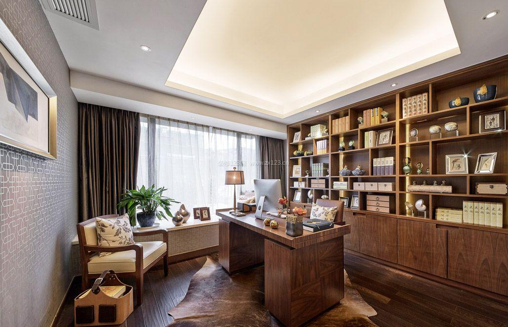 现代中式风格家居装饰装修图片2017