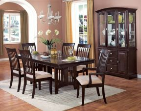 中式古典風格裝修圖 中式餐桌裝修效果圖片