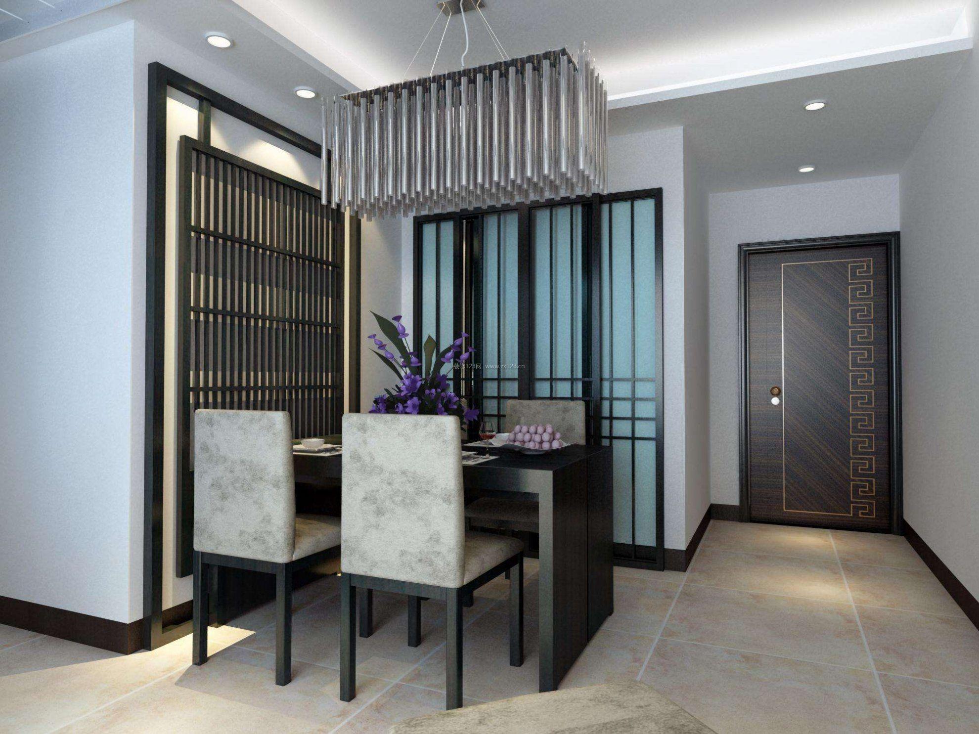 家装效果图 现代 60平两室一厅简约现代餐厅装修效果图 提供者