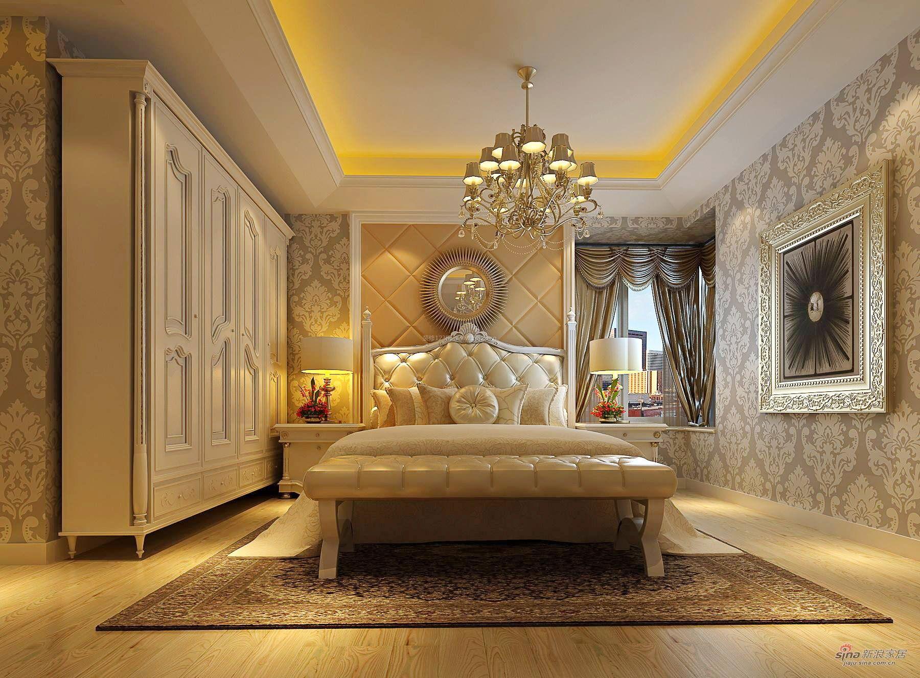 欧式家装卧室整体衣柜设计