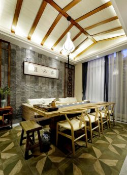 中式古典卫生间设计装修效果图图片