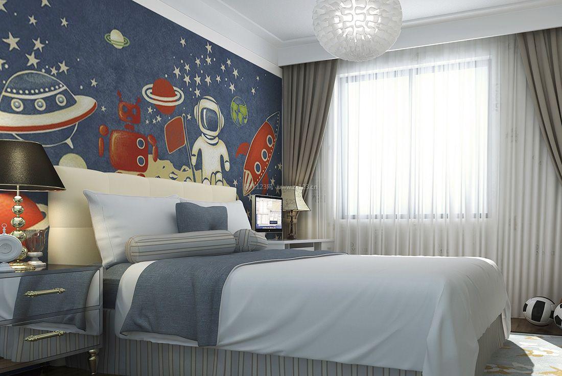 背景墙 房间 家居 起居室 设计 卧室 卧室装修 现代 装修 1100_736