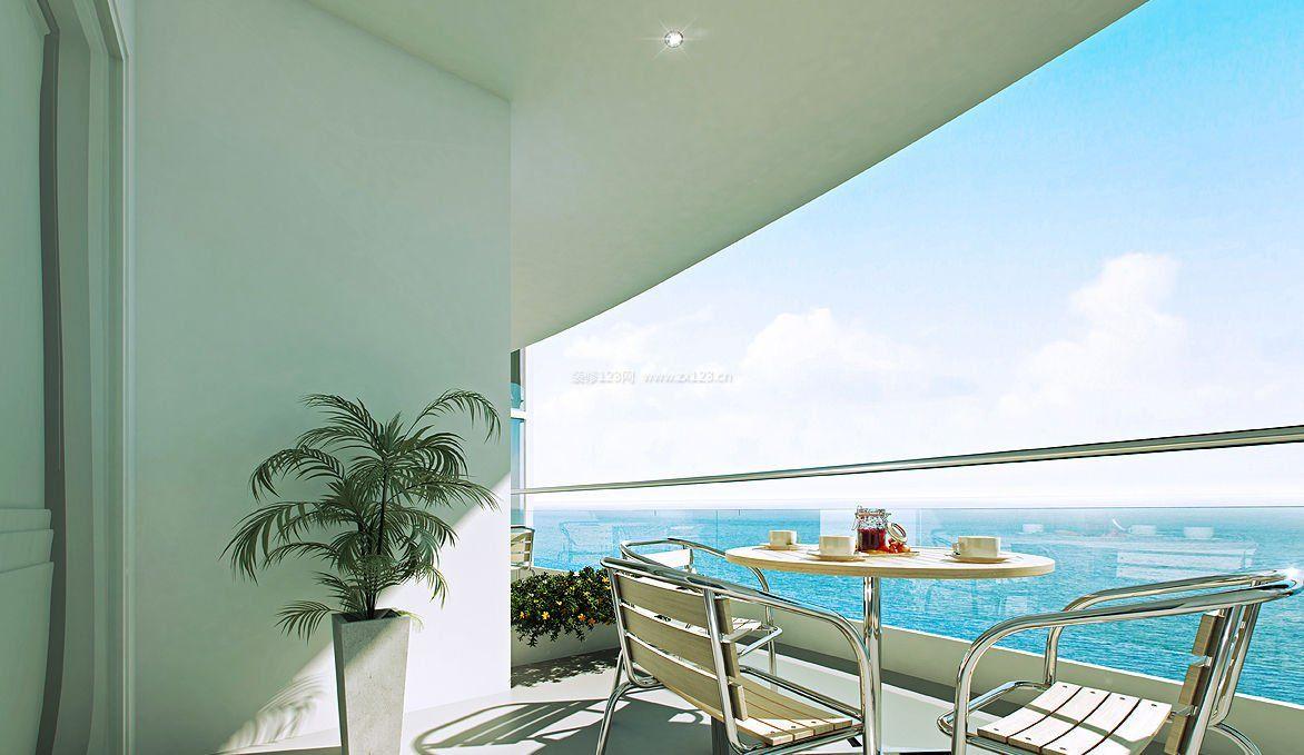 观景阳台后阳台设计效果图