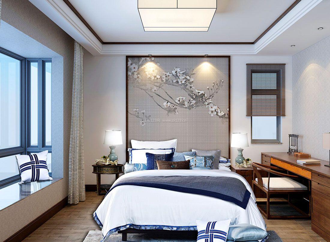 家装卧室古典中式风格元素装修效果图图片