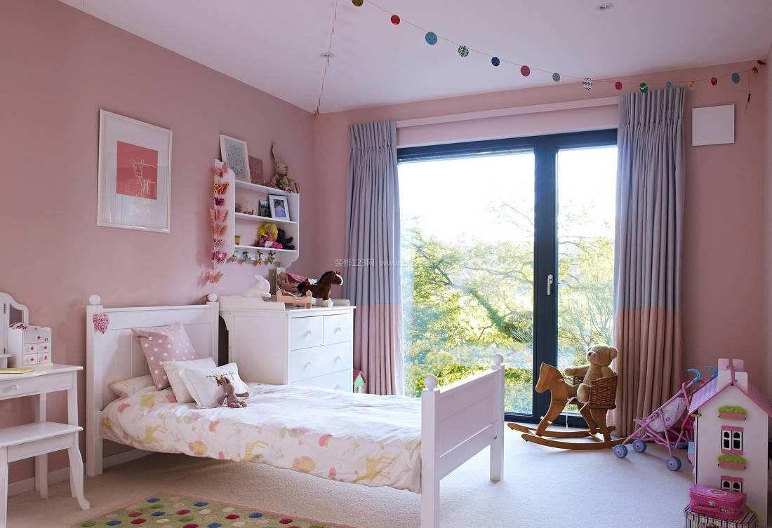 女孩儿童卧室家具图片大全