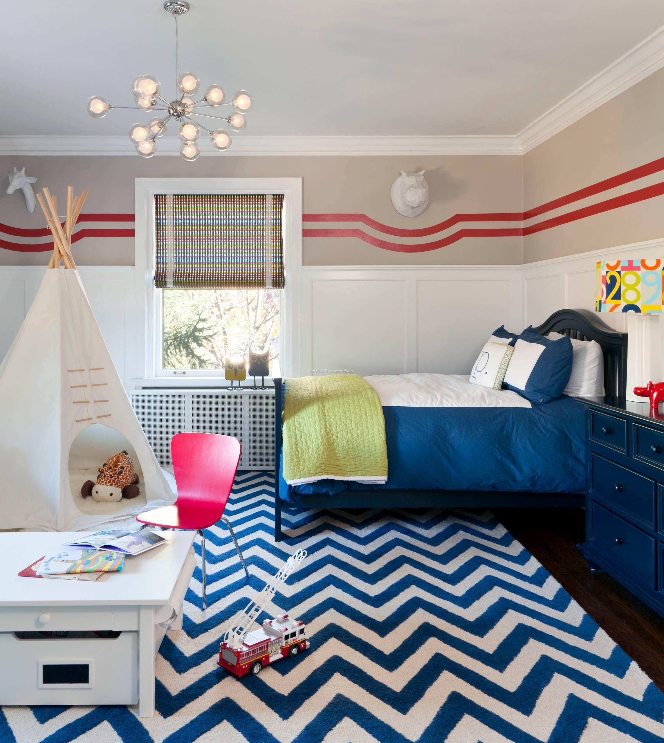 小户型儿童房设计图片