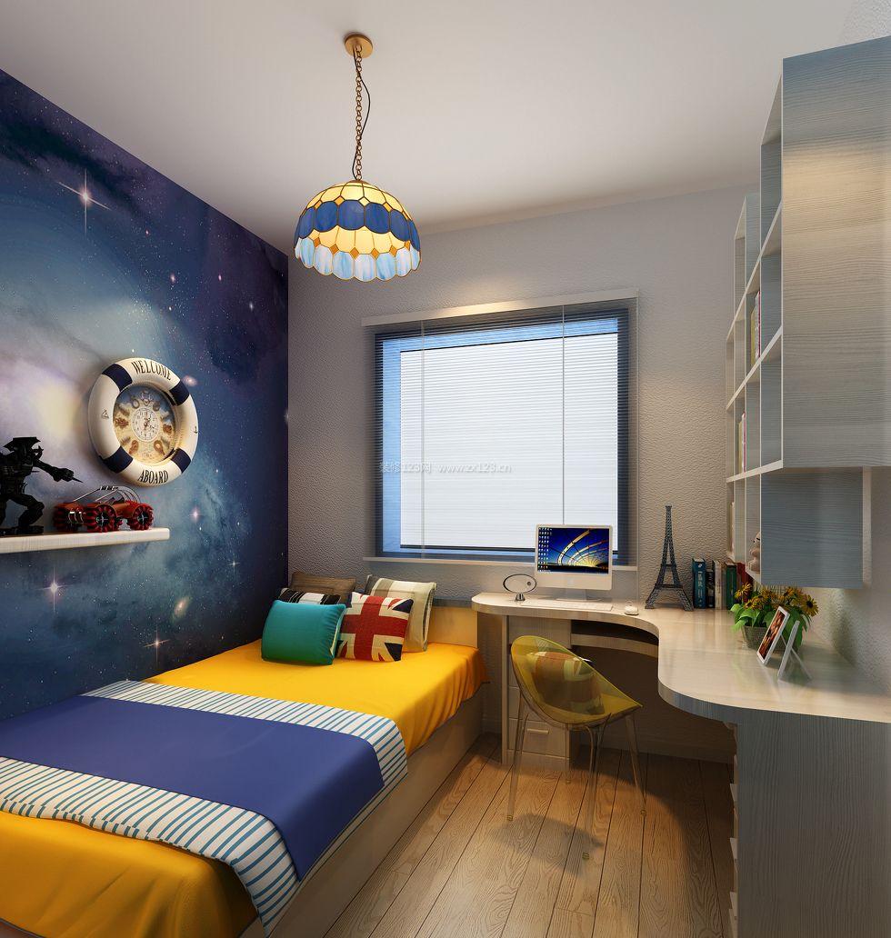 儿童房装修效果图 儿童房男孩卧室图片