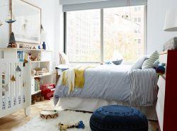 90平兩室兩廳簡約兒童臥室裝修案例