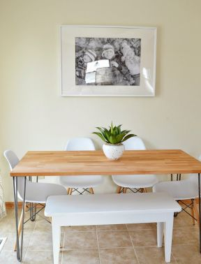 农村简易桌子设计图