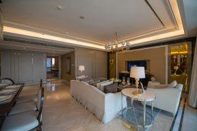 现代简约客厅 客厅背景墙装修效果图