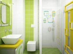 時尚40平米衛生間墻面裝飾裝修效果圖片
