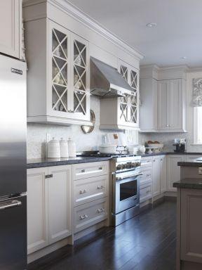2017厨房铝合金组合柜子设计图片