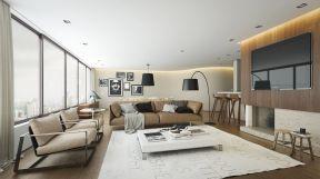 130平米客廳簡單 客廳地毯圖片