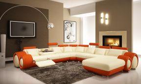130平米客廳簡單 客廳沙發圖片