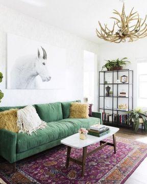 130平米客廳簡單 地中海家裝效果圖