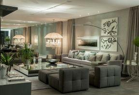 130平米客廳簡單 客廳沙發背景墻效果圖