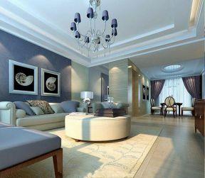 130平米客廳簡單 客廳沙發背景墻裝飾畫