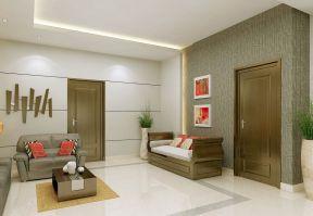 130平米客廳簡單 現代室內設計