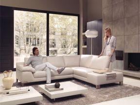 130平米客廳簡單 國外現代簡約