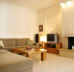 130平米簡單客廳裝修效果圖-每日推薦