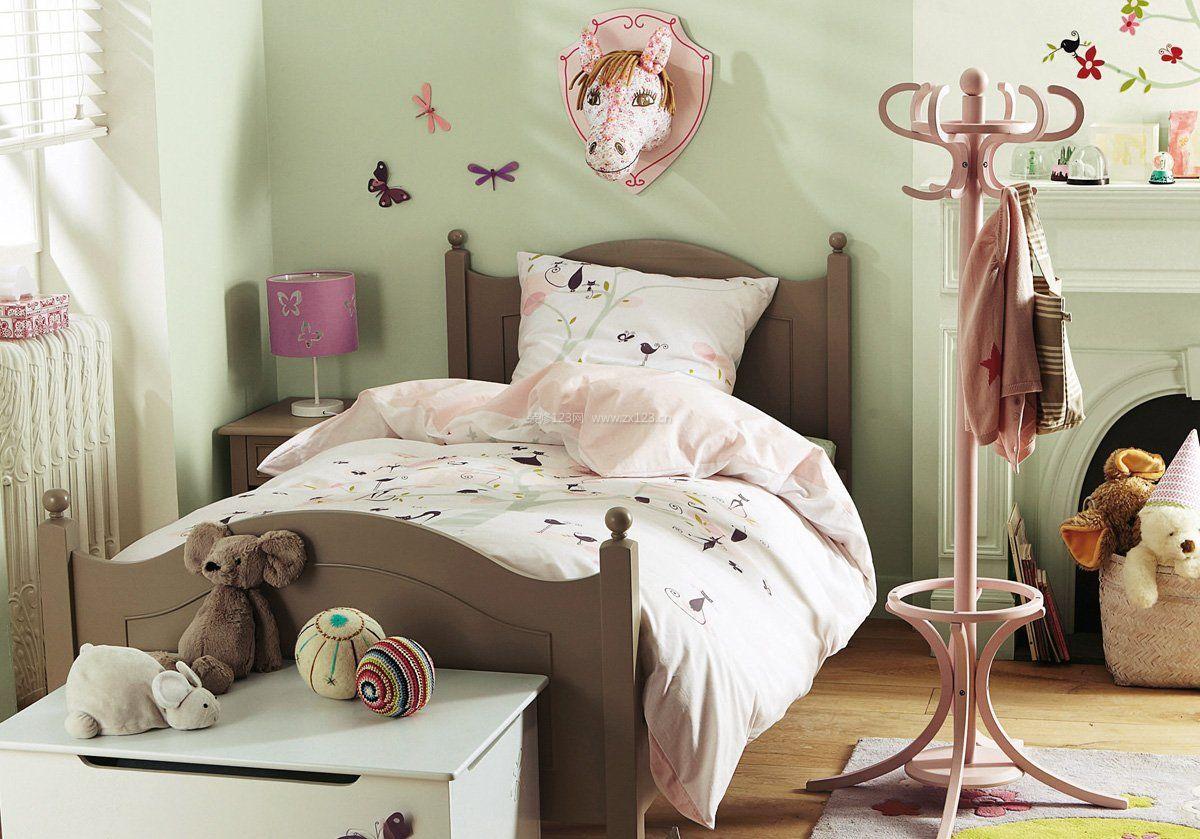 简约美式儿童房室内设计装修效果图