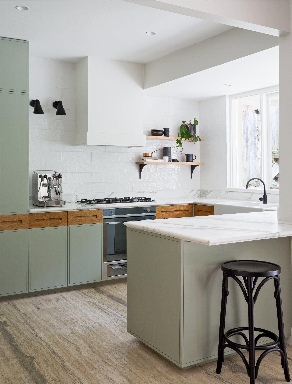 现代厨房餐厅小户型装修效果图图片