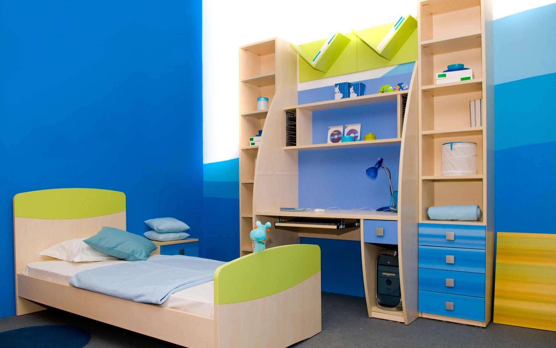儿童房室内柜子设计图