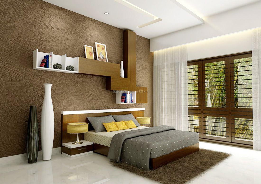 创意家居卧室书柜装修效果图片2017图片