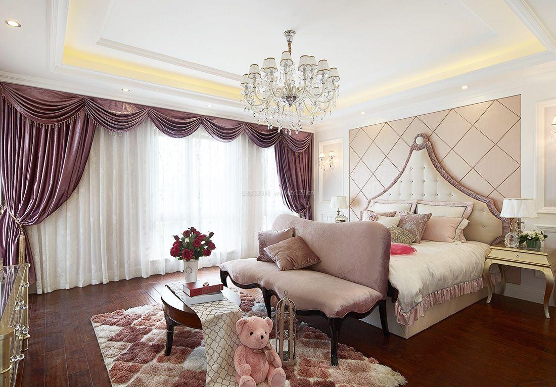 家装效果图 欧式 欧式风格家居卧室墙装修图片