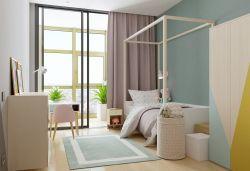 2017家居臥室墻面顏色裝飾圖片