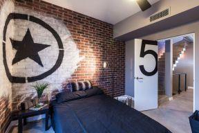 簡單臥室背景墻
