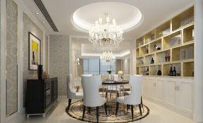 欧式餐厅装饰酒柜 酒柜设计图图片