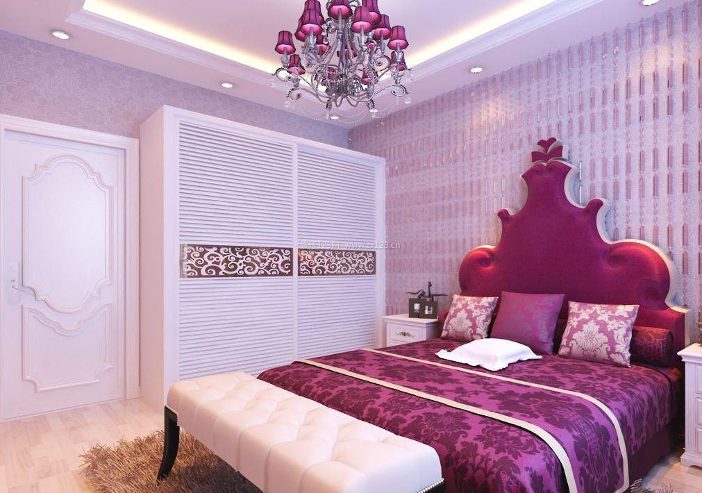 小女生卧室法式床图片大全