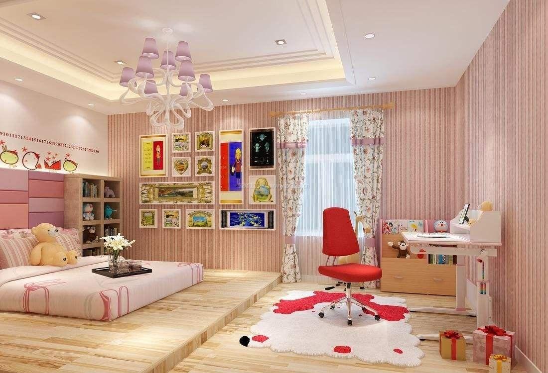 卧室壁纸装修效果图_卧室壁纸图片大全 - 随意贴