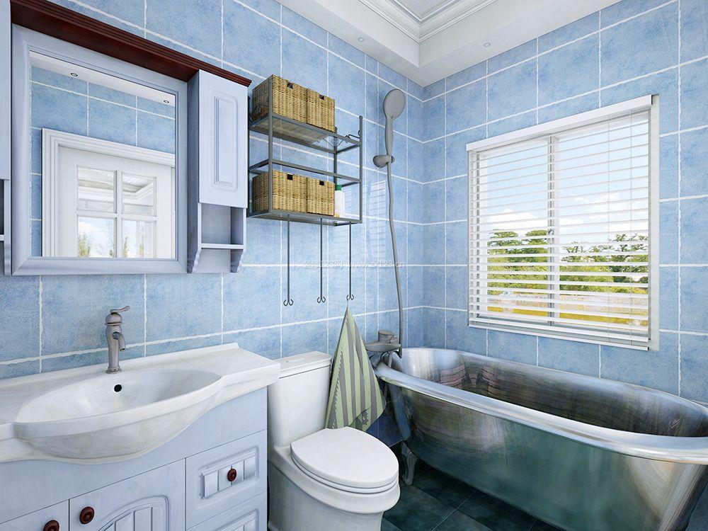 地中海卫生间整体浴室柜装修图片