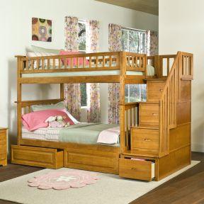 適合小臥室家具 小臥室高低床