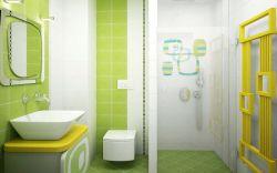 衛生間大背景墻磚設計