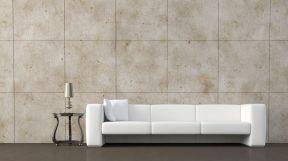 歐式簡約風格客廳 小戶型沙發背景墻